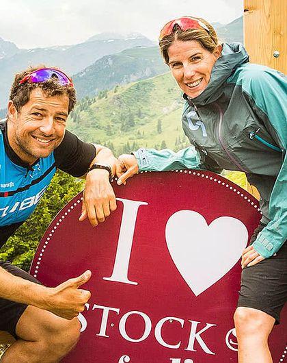 Triathlon-Training with Nicole and Lothar Leder