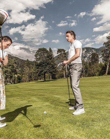 Alpengolf & Wellness mit 3 Tage Technik-Golfkurs