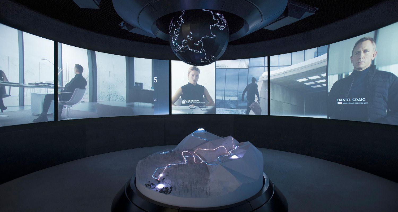 James Bond 007 ELEMENTS & SPECTRE Sölden - 5 star hotel Das Central